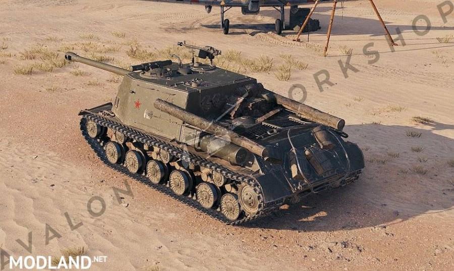 Avalon's ISU-122S 'Stalin's Might' 1.5.1.0-0 [1.5.1.0]